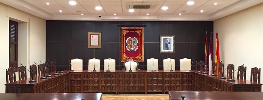 salon plenos municipal madridejos