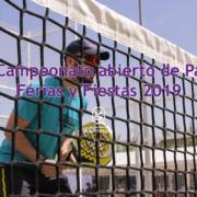 campeonato abierto padel