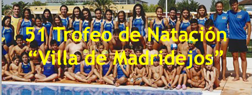 trofeo natacion madridejos