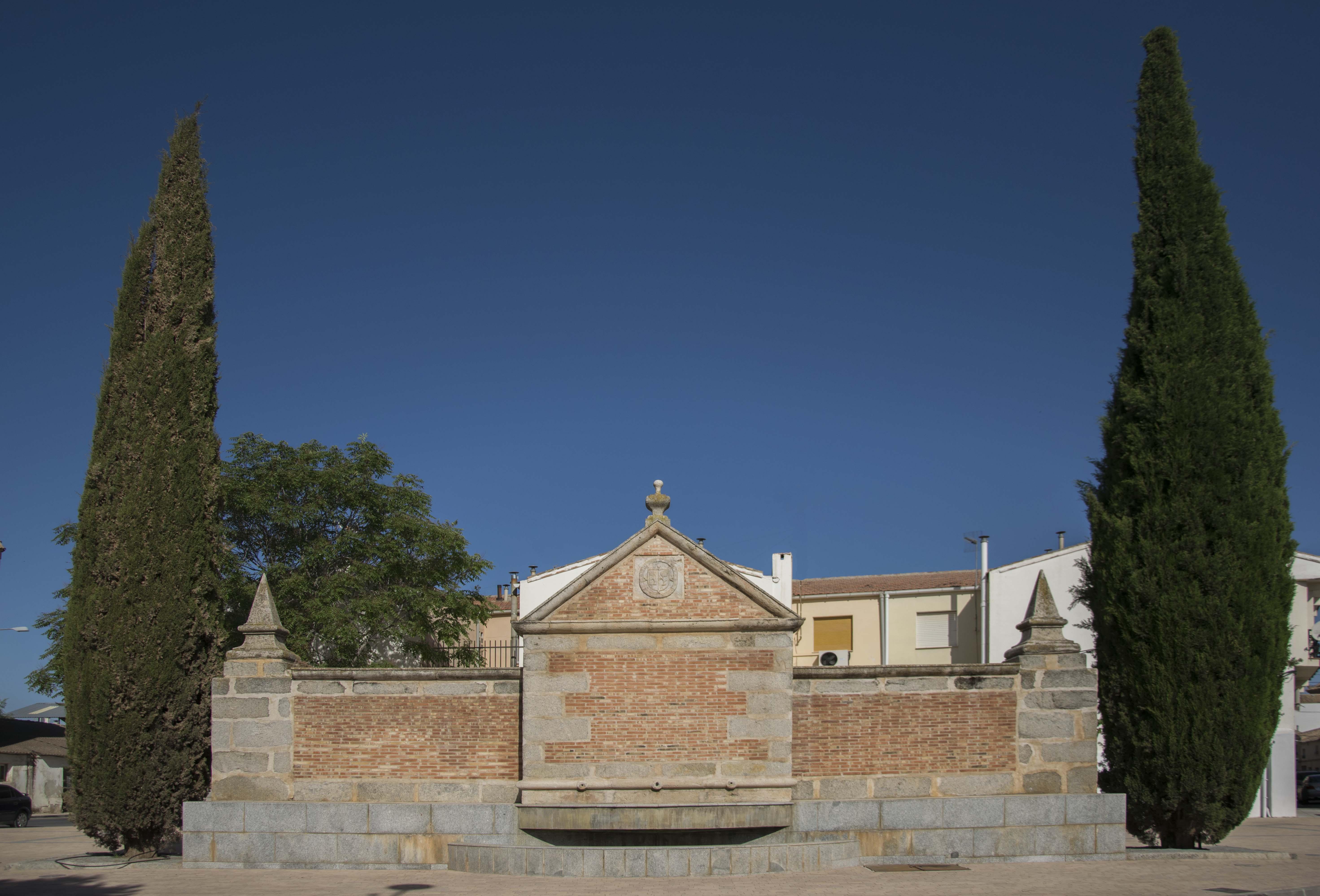 fuente cristo madridejos