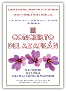 concierto azafran madridejos