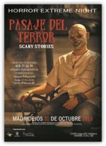 pasaje terror halloween madridejos