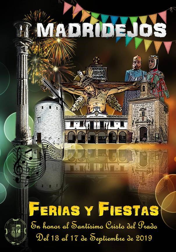 cartel anunciador feria y fiestas 2019 madridejos