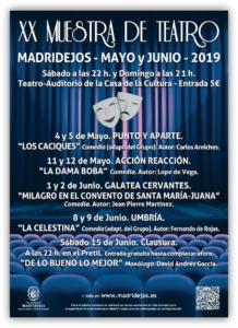 xx muestra teatro local madridejos