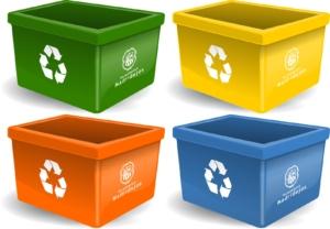 container reciclar residuos