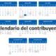 calendario tributario 2020
