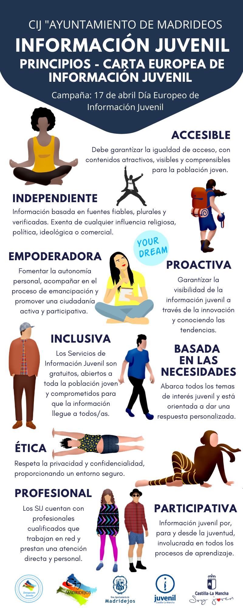 informacion juvenil principios