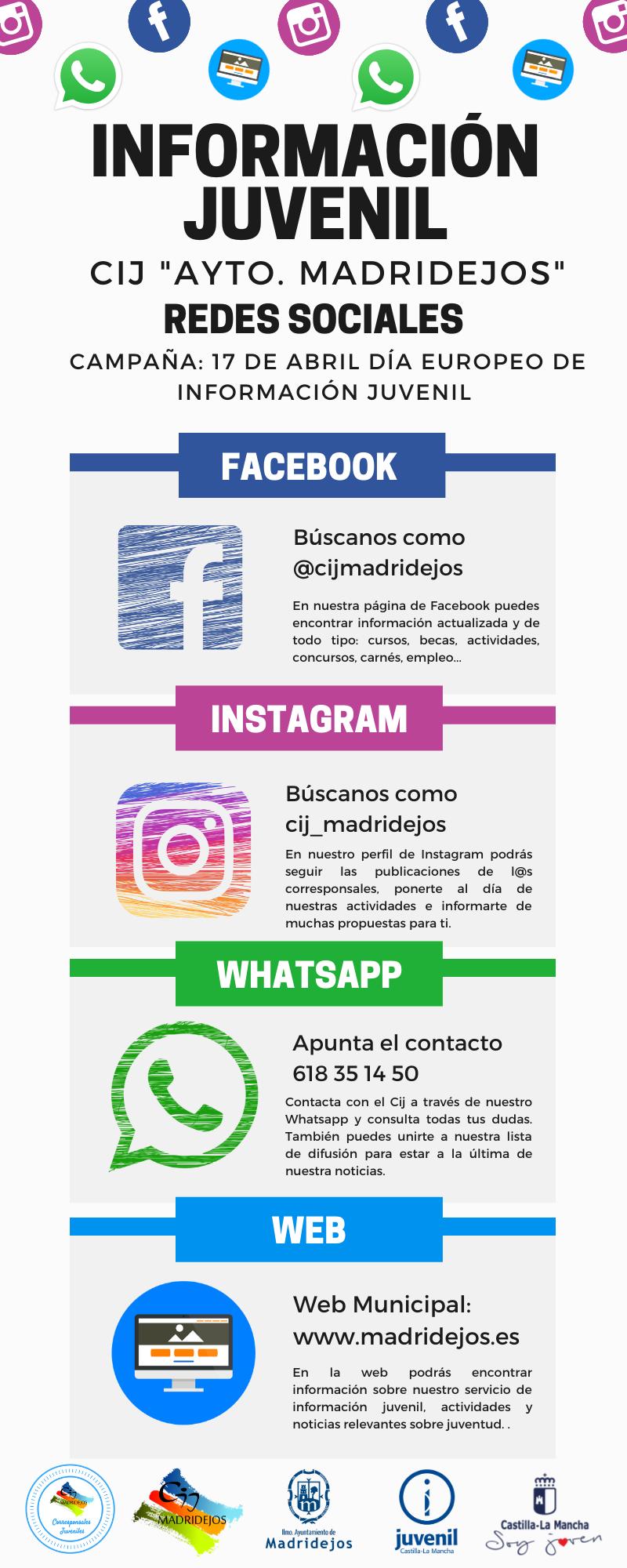 informacion juvenil redes sociales