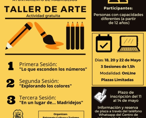 taller arte online madridejos