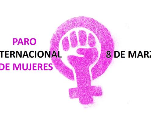 paro dia internacional mujeres 8m