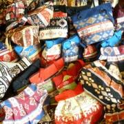 taller recicla ropa bolso