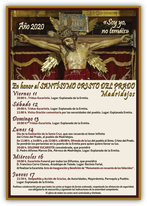 actos en honor stmo cristo del prado 2020