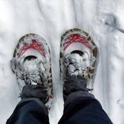 senderismo raquetas nieve