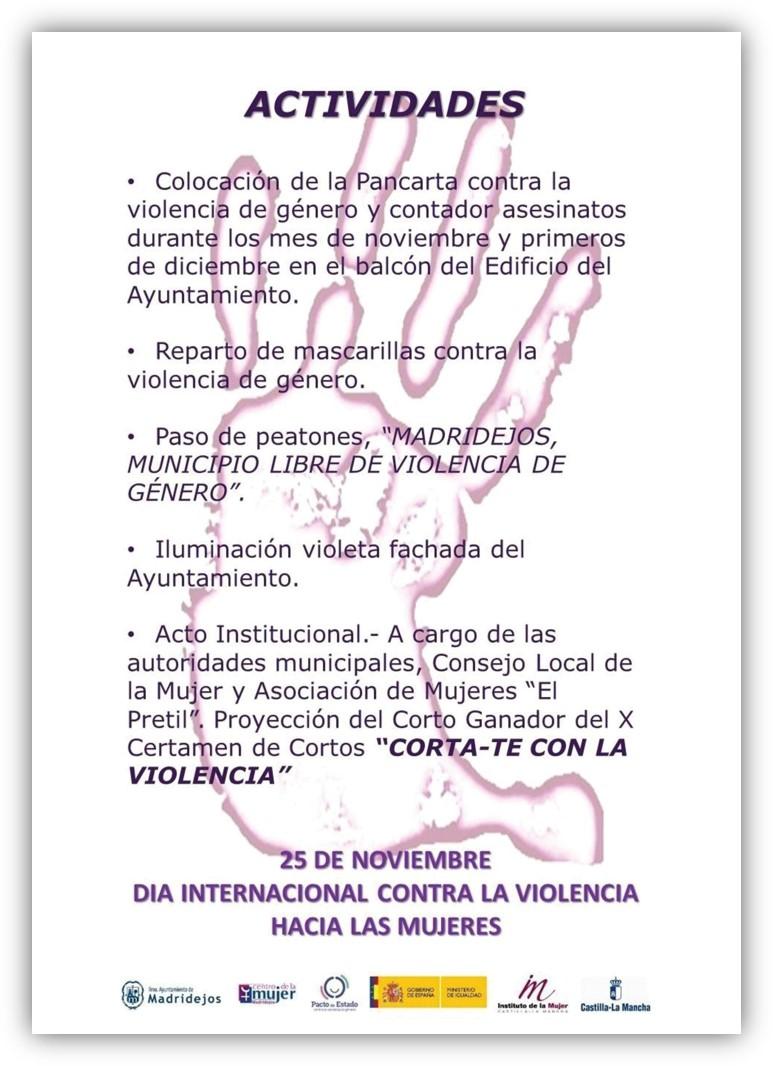 conmemoracion 25N madridejos