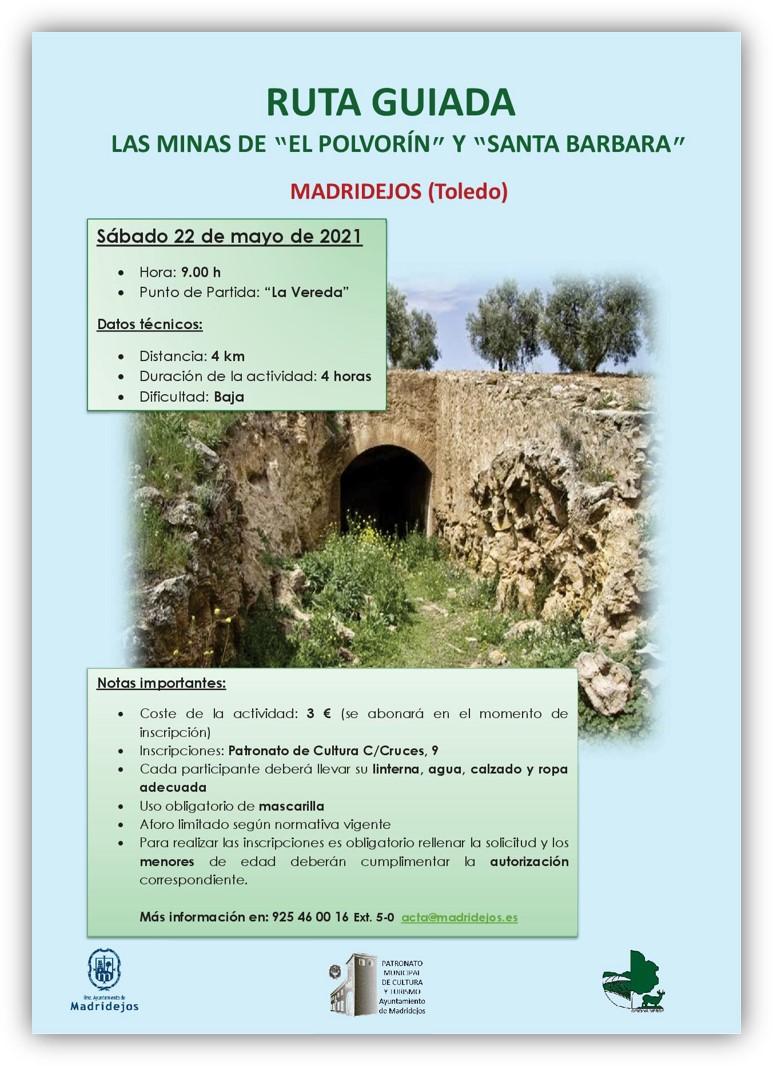 ruta minas madridejos