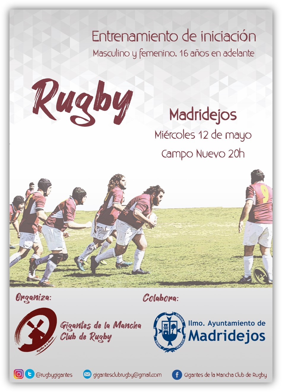 rugby madridejos