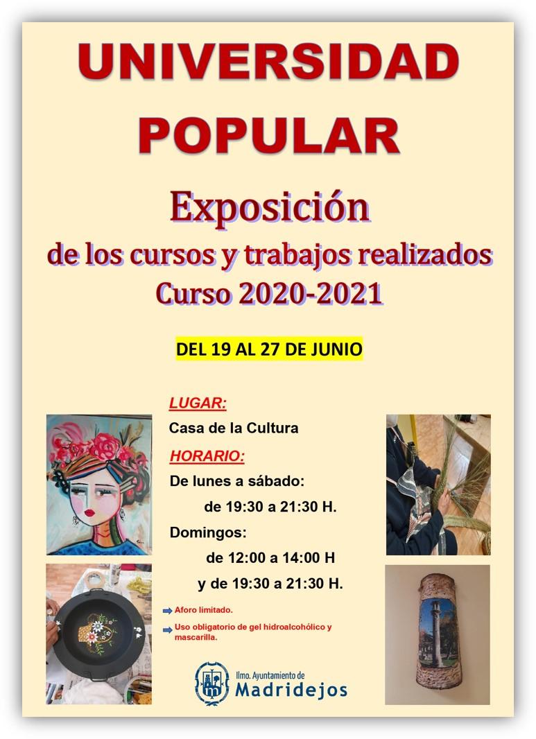 exposicion universidad popular 2021