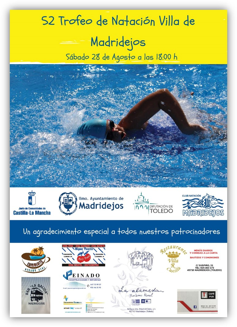 trofeo natacion feria madridejos
