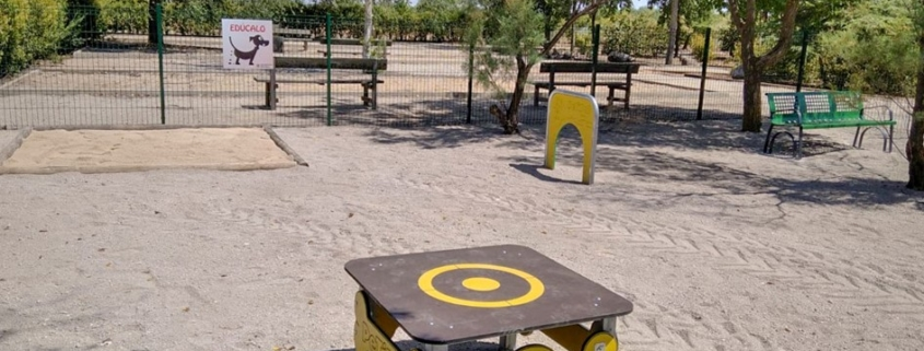 parque canino madridejos