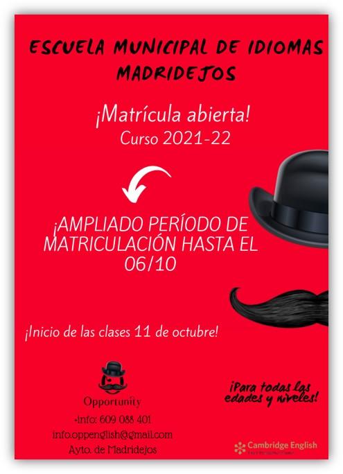escuela municipal idiomas madridejos