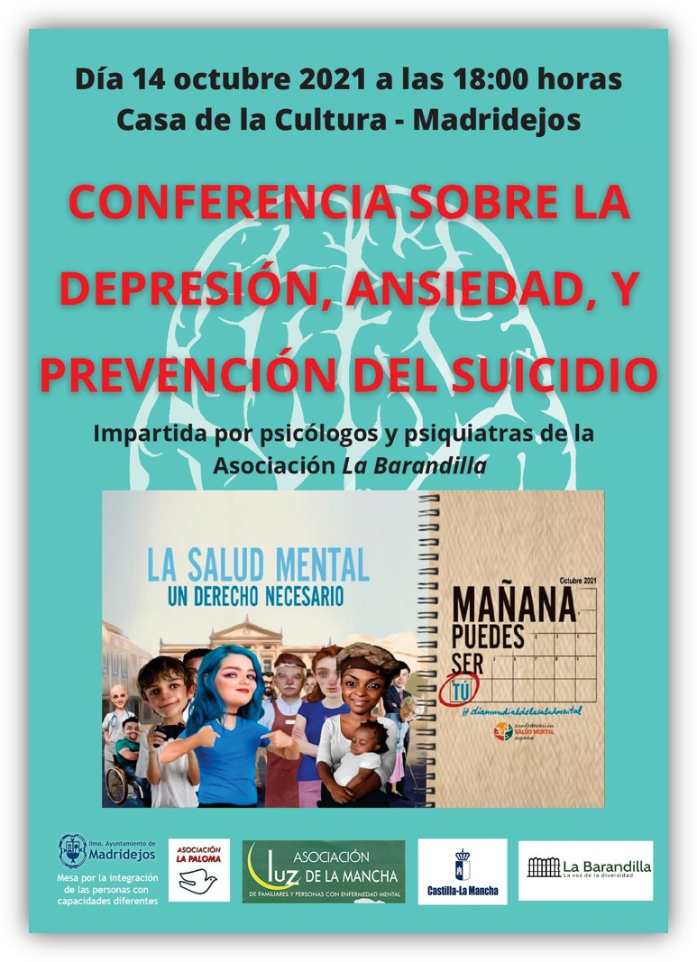 conferencia salud mental en madridejos